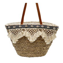 """Load the picture into the gallery viewer, basket bag """"Santorini"""""""