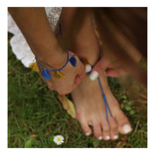 """Load the picture into the gallery viewer, anklet """"Tassels Love"""" (1 pair)"""