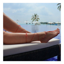 """Load the picture into the gallery viewer, anklet """"starfish"""" (1 pair)"""