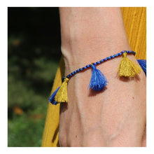 """Upload the picture to the gallery viewer, bracelet """"Tassels Love"""""""
