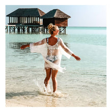 """Upload the picture to the gallery viewer, Cover Up Beach Dress """"Maledives"""""""