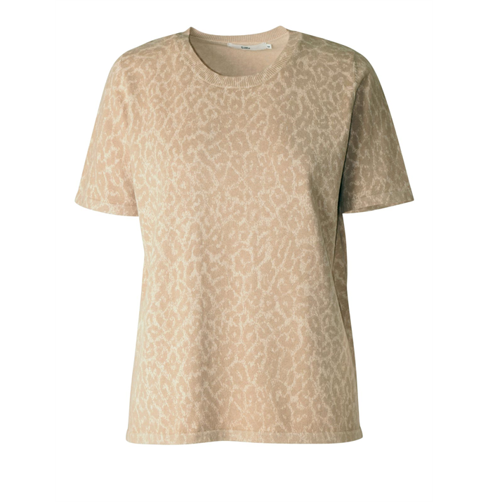 Sills - Short Sleeve Animal Print Tee