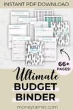 ultimate budget binder  pin with budgeting printables and budget stickers to print instantly