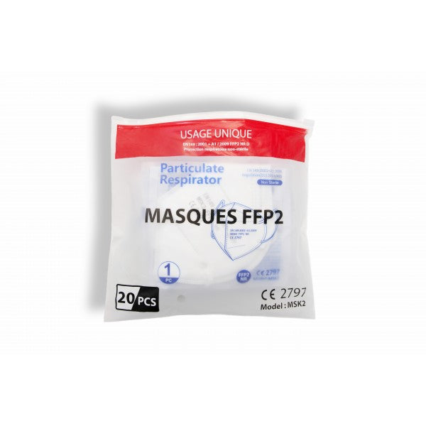 MASQUES  FFP2 - 20 Pieces