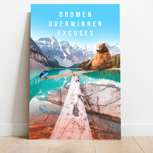 Motivatie Canvas - Dromen - Nature