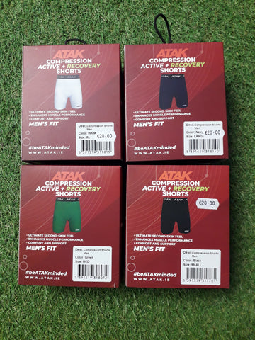 Atak mens compression shorts
