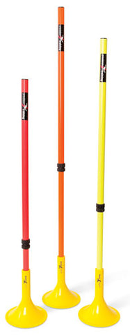 Precision Telescopic Boundary Poles (Set of 12)