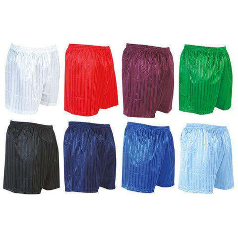 Precision Striped Continental Soccer Shorts Adult