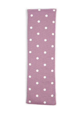 Mauve Dotty Wheat Bag