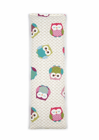Pink Owls Wheat Bag