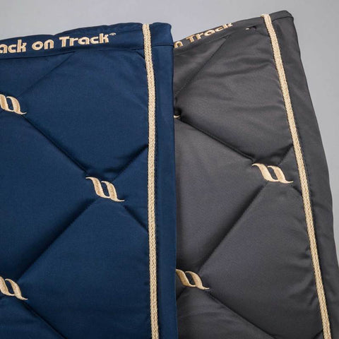 Back on Track Nights collection noble blue dressage pad