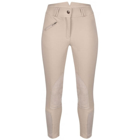 Equetech Ladies White Foxhunter Hybrid Breeches