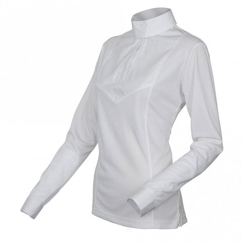 Shires Ladies Long Sleeve Stock Shirt