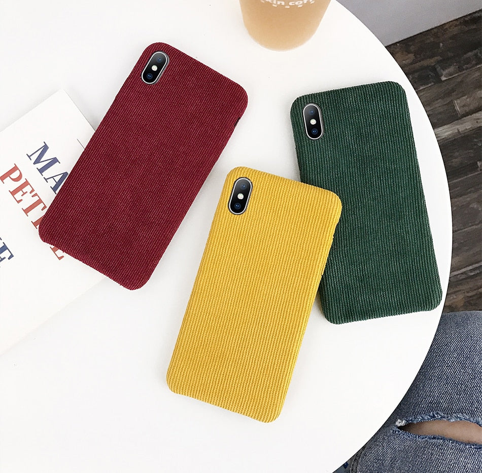 Corduroy - Just Case iPhone Accessories Shop