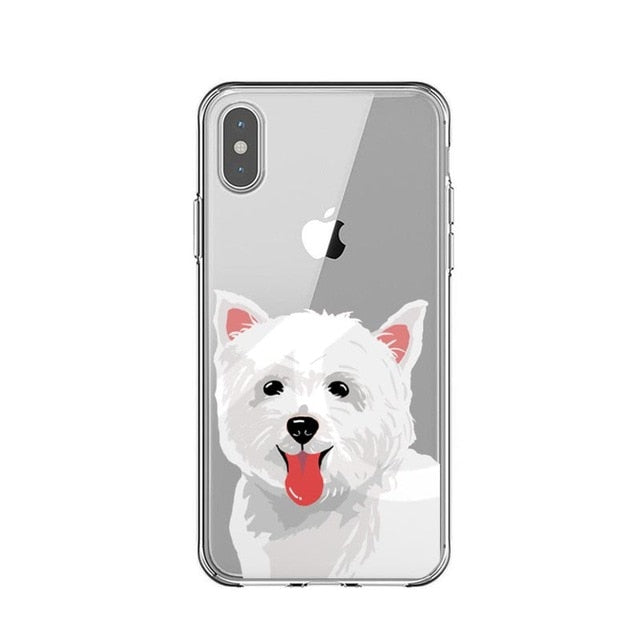 Samoyed Drawings - Just Case iPhone Accessories Shop