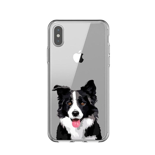 Border Collie Drawings - Just Case iPhone Accessories Shop