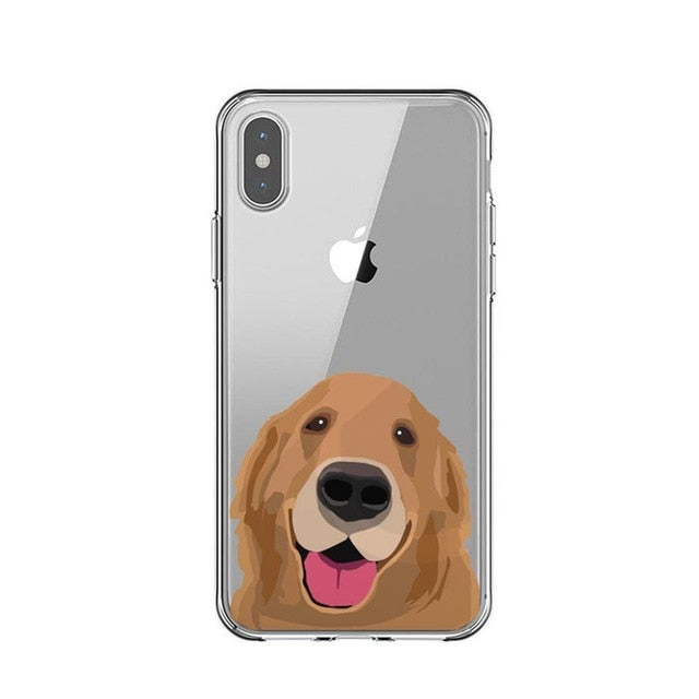 Golden Retriever Drawings - Just Case iPhone Accessories Shop