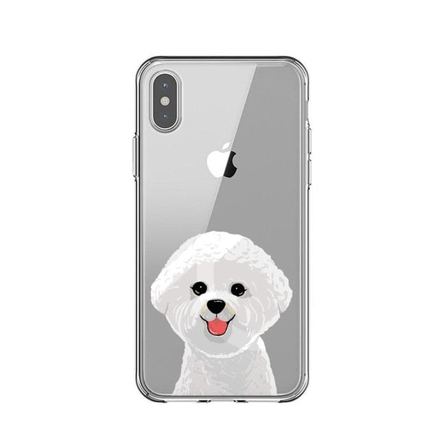 Bichon Drawings - Just Case iPhone Accessories Shop