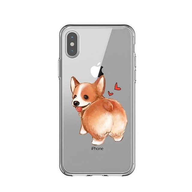 Corgi Drawings 2 - Just Case iPhone Accessories Shop