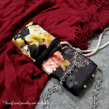 Load image into Gallery viewer, JEWELRY ROLL BAG | TRAVEL JEWELRY ORGANIZER