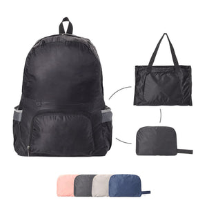 L&Z 2 IN 1 LIGHTWEIGHT FOLDABLE BACKPACK | TRAVELING DAYPACK