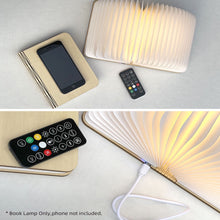 Load image into Gallery viewer, Book Lamp Speaker with Remote Control