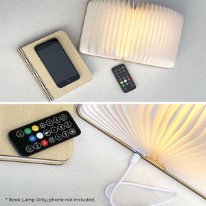 Book Lamp Speaker with Remote Control