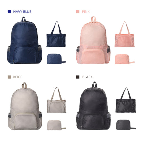 foldable backpack 4 colors