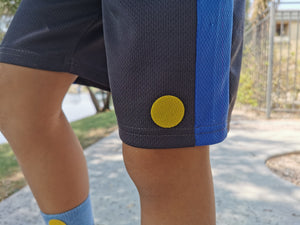 mosquito repellent patch on shorts