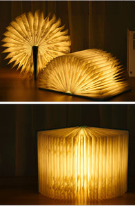Best Gift for Book Lovers | LED Chinese Book Lantern | Folding Book Light | Novelty Lamp |