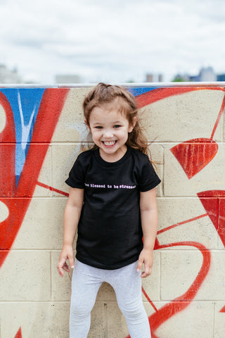 Too Blessed to be Stressed Kid's T-Shirt