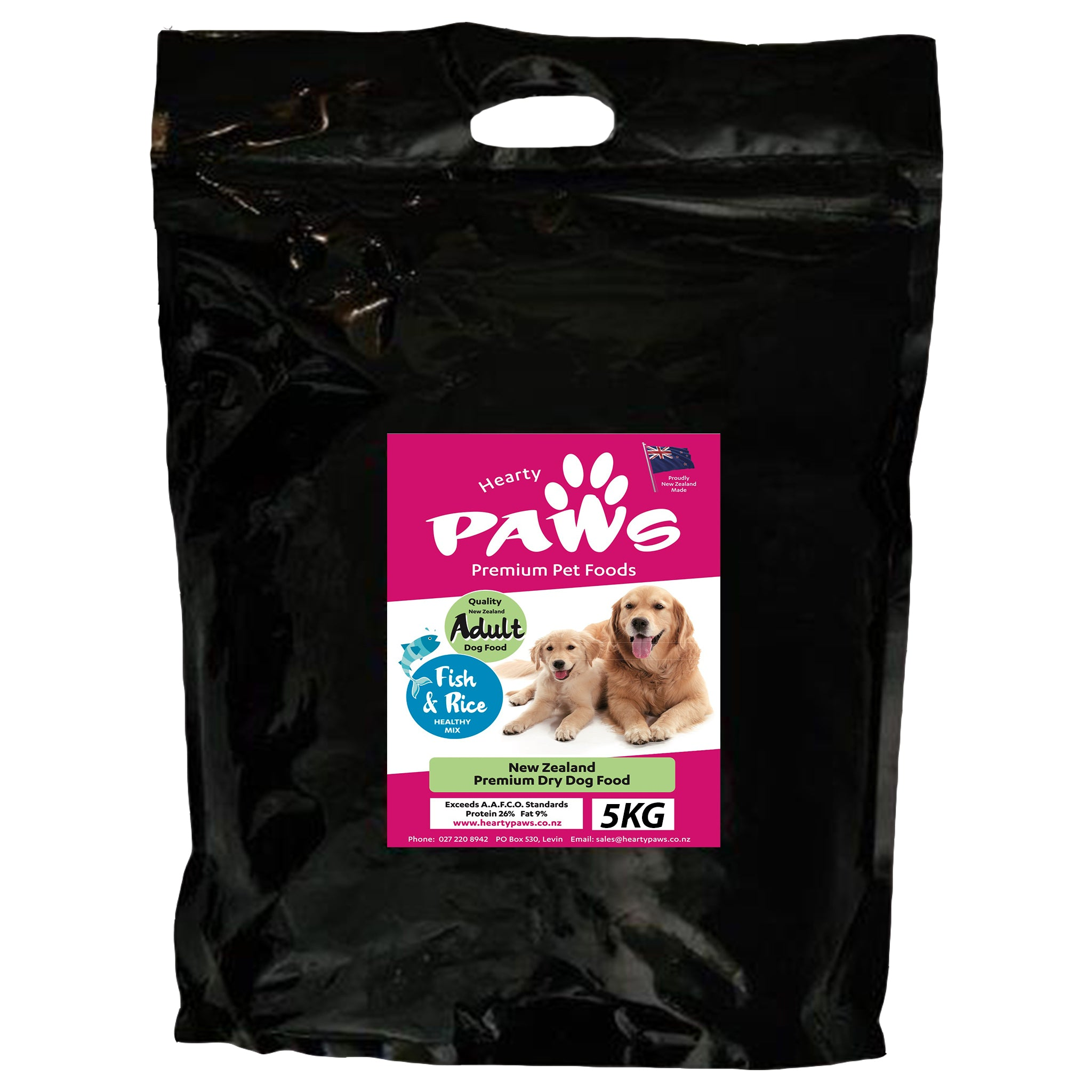 NZ Premium Dry Dog Food - 5kg Fish Adult