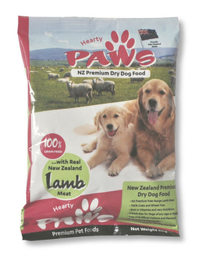 NZ Premium Dry Dog Food - 60g Lamb Sample Bag