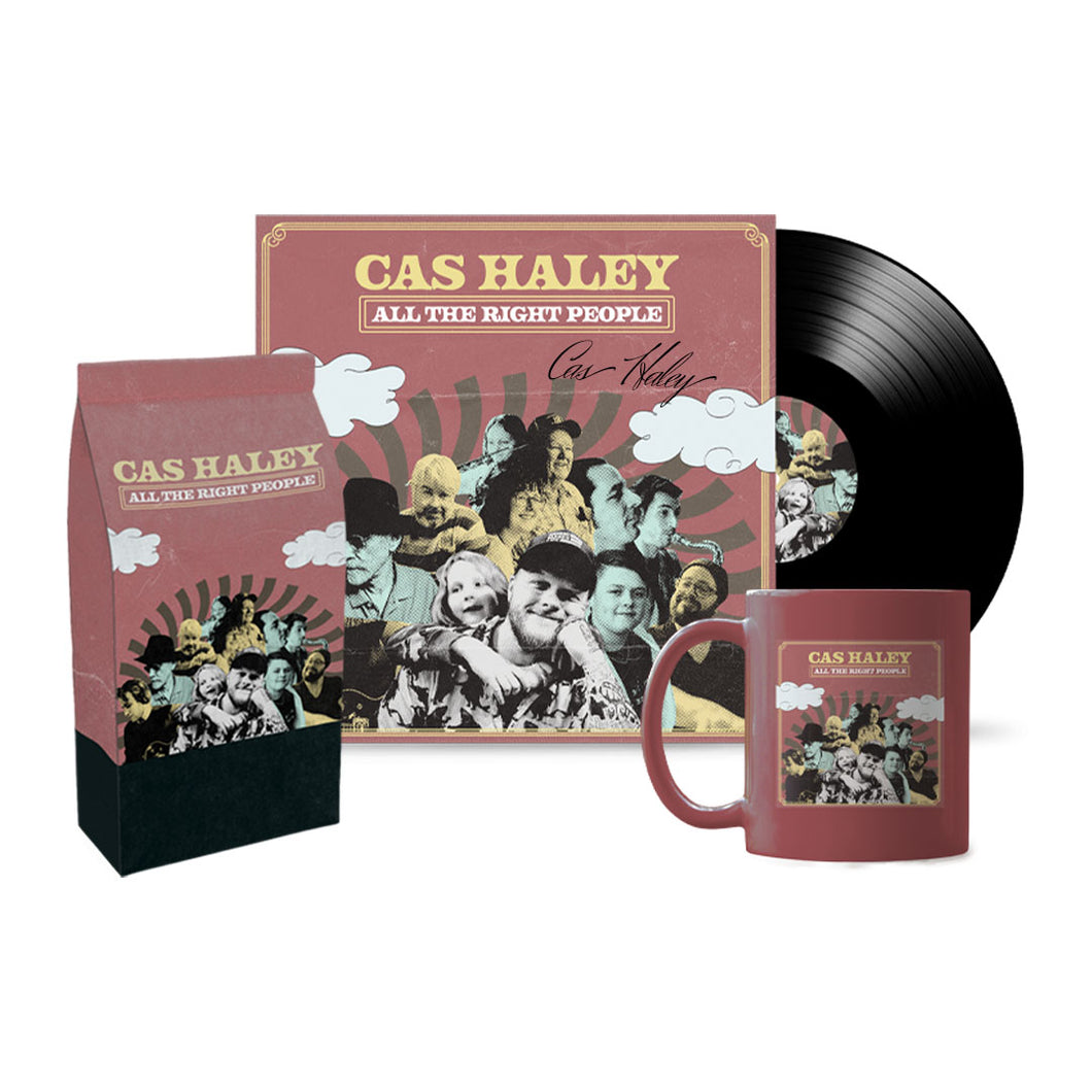 Signed Vinyl + Exclusive Cas Haley Coffee + ATRP Mug + Digital Download