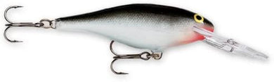 Rapala Shad Rap Crankbait, 3 1/8, 3/8 OZ, 8-15 feet running depth