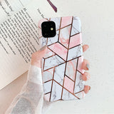 Marble Silicone Case For iPhone 11 Pro Max X XR Xs Max Soft Phone Cover For iPhone 6 6s 7 8 Plus Case Fundas