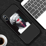 Phone Case For iPhone 11 6 6s 7 8 Plus X XR 11Pro XS Max 5 5s SE Abstract Art Statue Soft TPU For iPhone X XS Phone Case