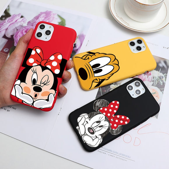 Cartoon Cute Soft TPU Phone Case For iPhone 6S 8 7 6 Plus 11Pro XS Max XR X