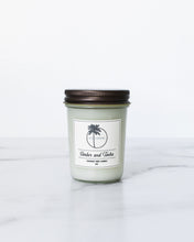 Load image into Gallery viewer, Amber + Tonka Scent Coconut Wax Candle