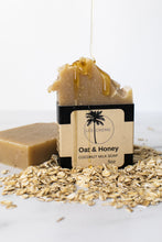 Load image into Gallery viewer, Oat + Honey Coconut Milk Soap