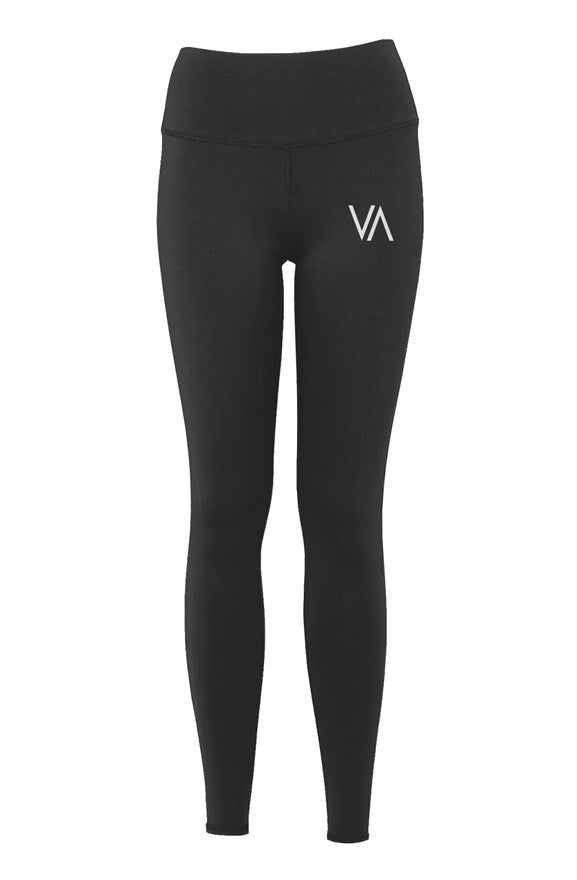 Womens Luxury Yoga Pants - VA Logo