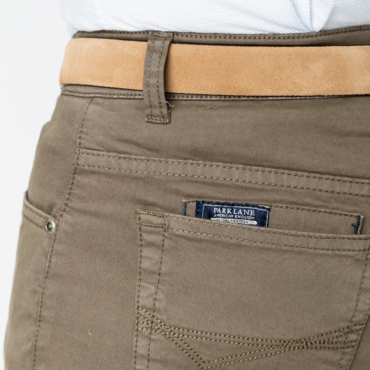 5-pocket pants - Khaki
