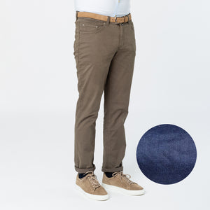 5-pocket pants - Antique blue
