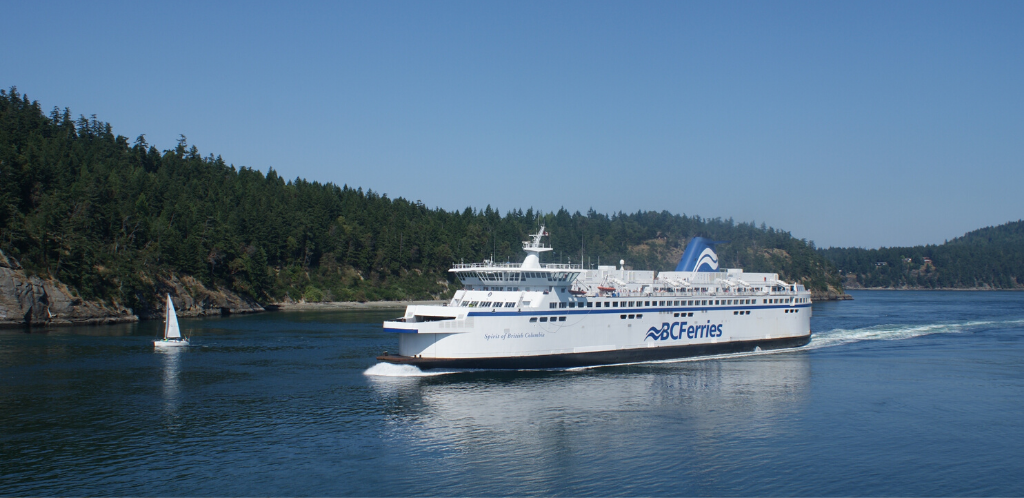 Ferry cruise from Victoria to Vancouver is a feast for your soul and eyes