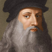 Load image into Gallery viewer, Portrait of Da Vinci