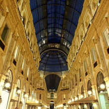 Load image into Gallery viewer, Inside of Galleria in Milano