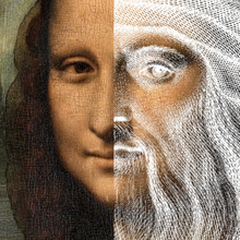 Load image into Gallery viewer, Is the Mona Lisa a self-portrait of Da Vinci?