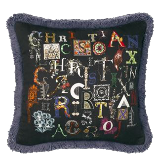 Coussin Do you speak Lacroix ? Christian Lacroix