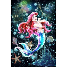 Load image into Gallery viewer, Diamond Painting Cartoon Little Mermaid Ariel