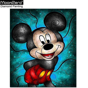 5D DIY Diamond Painting Cartoon mouse